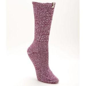 UGG Rib Knit Slouchy Crew Marled Sock